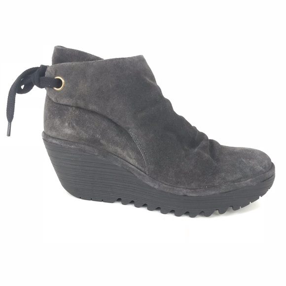 fbb0d5d4d4d Fly London 39 Yebi Diesel Ruched Ankle Boot 8